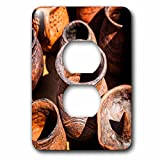 3dRose Alexis Photography - Objects - Group of ceramic pottery made in an ancient style - Light Switch Covers - 2 plug outlet cover (lsp_271897_6)