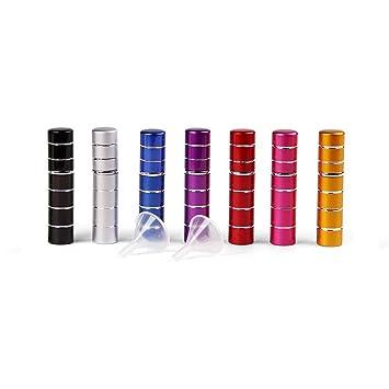 Amazon.com: DE7pcs 5 ml Portátil Mini recargable Perfume ...