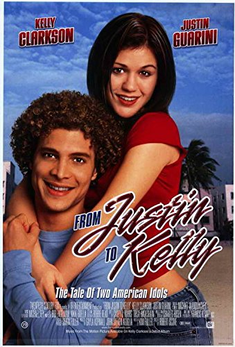 From Justin to Kelly - Movie Poster - 27 x 40 (Kelly Clarkson Photo Christmas)