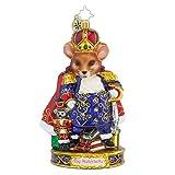 Christopher Radko Mouse King Glass Christmas Ornament - Nutcracker Series - New for 2016 - 7h. by Christopher Radko
