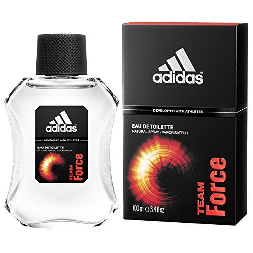 Adidas Team Force By Adidas For Men, Eau De Toilette Spray, 3.4-Ounce Bottle (Eau De Toilette Perfume Bottle)