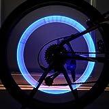 Bike Bicycle Accessories LED Wheel Lights Valve Lamp Valve Core Light