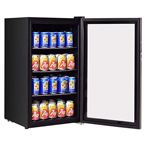 Costway Beverage Refrigerator Cooler Fridge