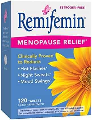 Remifemin Estrogen-Free Menopause Relief, 120 Count