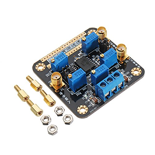 UAF42 Active Filter Module Highpass/Lowpass/Bandpass Adjustable Filtering Board - Arduino Compatible SCM & DIY Kits