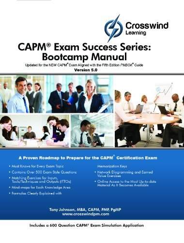 Download By MBA, CAPM, Project +, CSM, CCBA, PMI-SP, PMI-RMP, CAPM Exam Success Series: Bootcamp Manual (with Exam Sim App) (5th Edition) [Paperback] pdf