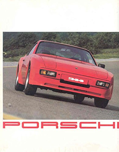 1982 Porsche 924 924 Turbo 944 911 Turbo 911SC Targa