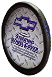 Automotive : Chevy Diamond Plate Grip Style Steering Wheel Cover