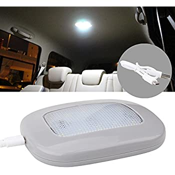 Amazon Com Auto Car Ceiling Roof Lights Magnetic Dome