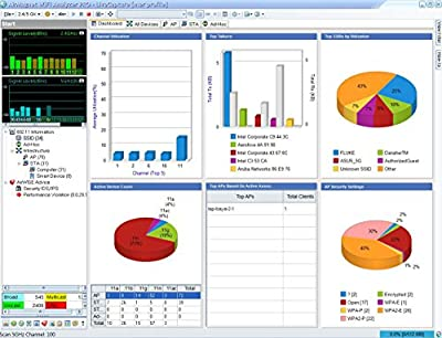 Fluke Networks AM/A1150 AirMagnet WiFi Analyzer PRO Software