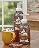 Sets of 2 Skinny Syrups Whipped Foam Toppings,Mocha