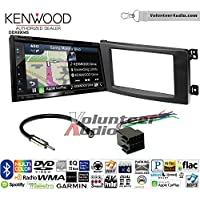 Volunteer Audio Kenwood Excelon DNX694S Double Din Radio Install Kit with GPS Navigation System Android Auto Apple CarPlay Fits 2008-2010 Smart Fortwo