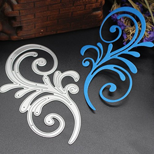 (2019 Newest Hilarious Metal Die Cutting Dies Handmade Stencils Template Embossing for Card Scrapbooking Craft Paper Decor by E-Scenery)