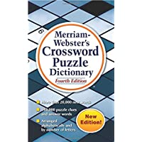 Merriam-Webster's Crossword Puzzle Dictionary, 4th Ed., (Mass-Market Paperback)...