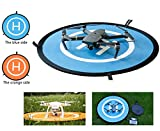 "Cheap Qubuy Drones Landing Pad, Drone and Quadcopter 30""/75cm Universal Portable Foldable Waterproof RC Soft Helipad for DJI Phantom 2/3/4/Pro, Inspire 1/2,Mavic AIR/2 Pro/2 Zoom/Pro,GoPro Karma & More"