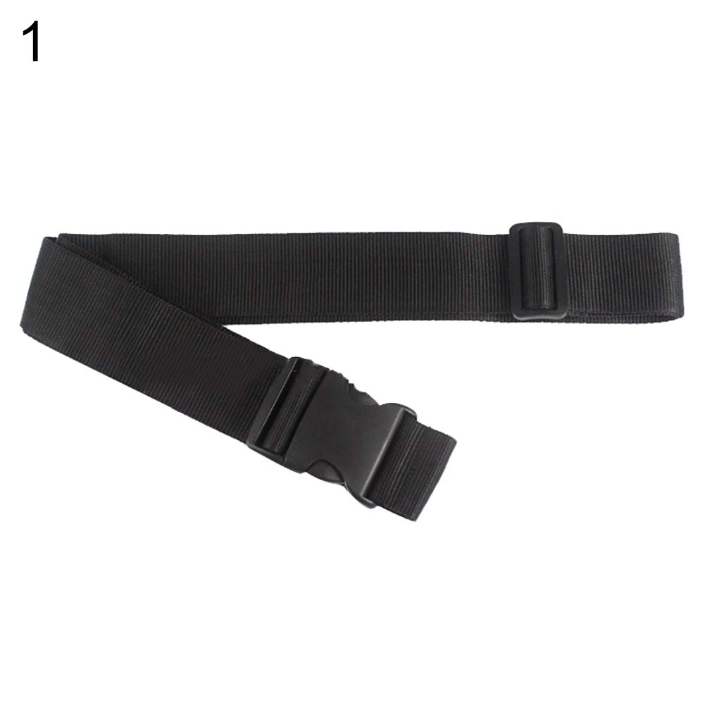 Guoainn Convenient And Practical Heavy Duty Adjustable Travel Luggage Strap Suitcase Belts Buckle Bag Accessories