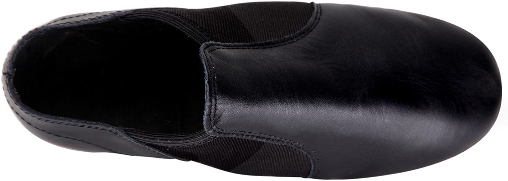 Leather Upper Jazz Shoe Slip-on for Women and Men Tent Linodes