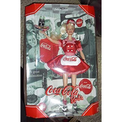 1999 Barbie Collectibles - Coca-Cola Babie #1: Toys & Games