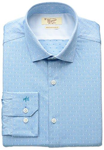 original-penguin-mens-slim-fit-stretch-square-dobby-dress-shirt-aqua-15-neck-32-33-sleeve