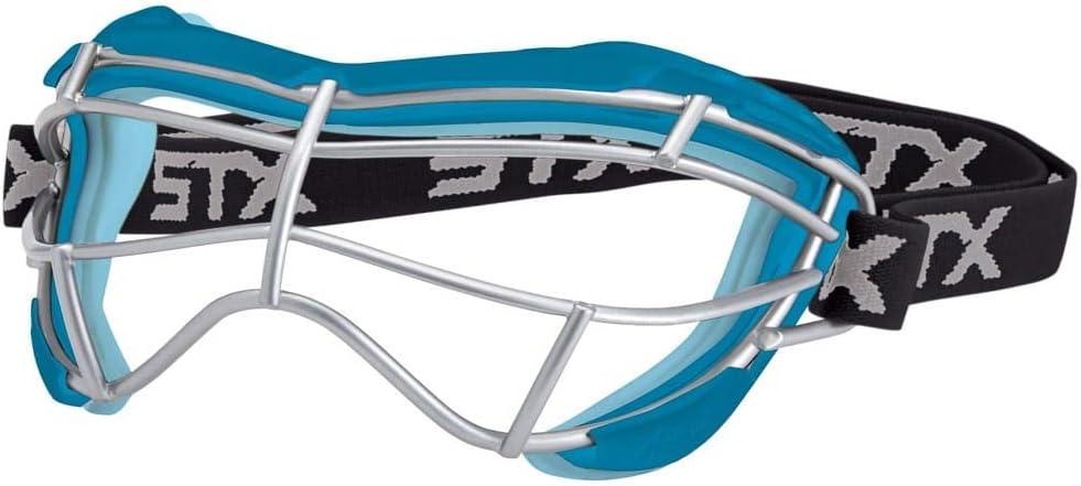 Capri//Ice Blue STX Lacrosse Focus-S Goggle