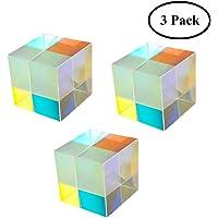 Yunhigh óptica Vidrio Cubo Prisma Cristal Arco Iris