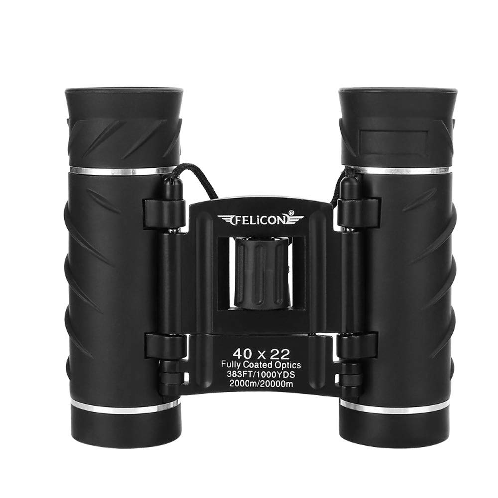 Mhwlai New-40X22 Telescope, Binoculars, 40 Times, 10-1000 Meters Effective, BAK4 Prism, for outlanding or Sight-Viewing Purpose, Black, Water-Proof by Mhwlai