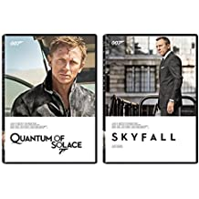 Skyfall DVD & Quantum of Solace 2 Pack James Bond 007 Daniel Craig Set