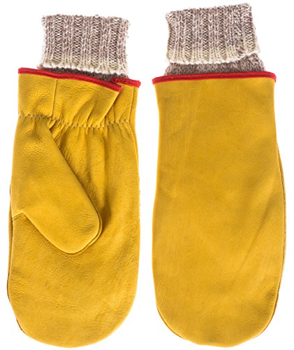 klondike-mens-cow-hide-chopper-mitt-with-heavy-weight-removable-raggwool-liner-wheat-x-large