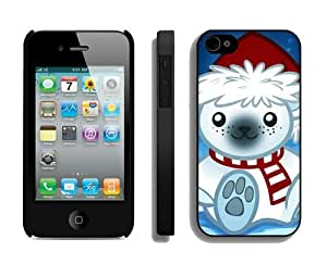 diy phone casePersonalized Christmas Bear iPhone 4 4S Case 5 Blackdiy phone case