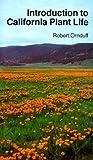 Introduction to California Plant Life, Ornduff, Robert, 0520027353