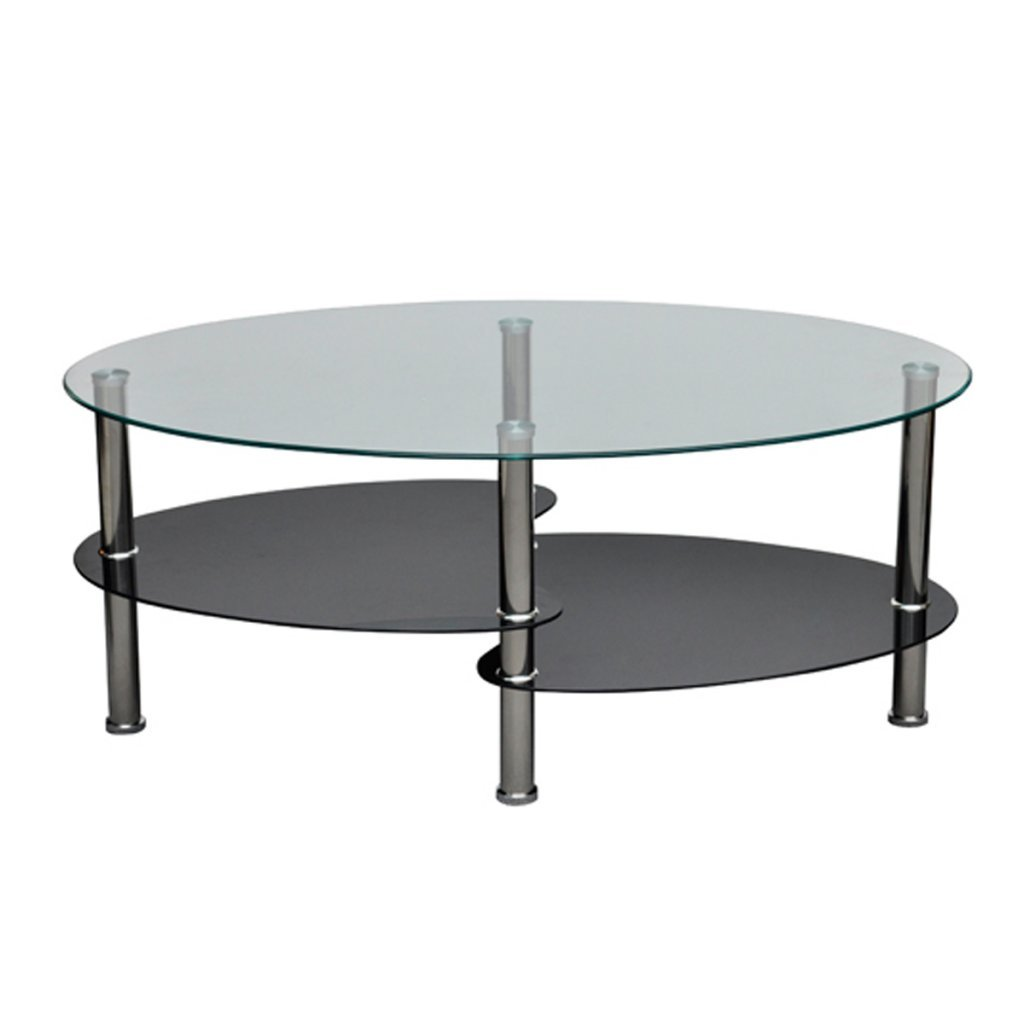 Table basse pas cher noir for Amazon table de salon