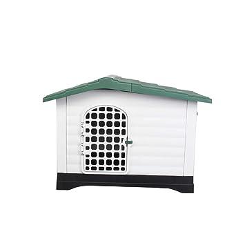 QNMM Caseta para Perros de Lujo para Mascotas Four Seasons Universal Kennel Seguro y no tóxico Adecuado para Mascotas pequeñas y Medianas,Green: Amazon.es: ...