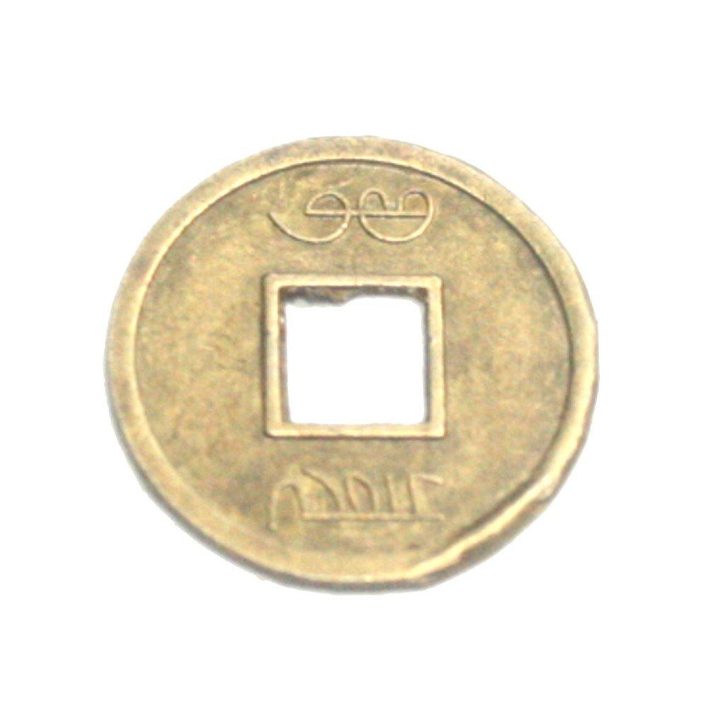 15 mm 4 Fois 4 mm /Épaisseur env 7 mm Juergensmineralien Lot de 10 pi/èces Porte-Bonheur Chinois Feng Shui Amulette Diam/ètre int/érieur env