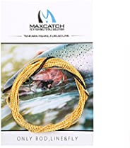 Maxcatch Tapered Tenkara Line, Braided Furled Line: 11/12/13 FT, 3 Color Available