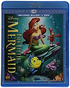 Cover Image for 'The Little Mermaid (Two-Disc Diamond Edition: Blu-ray / DVD in Blu-ray Packaging)'