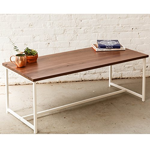 The Flapjack Coffee Table - Solid Walnut Top