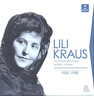 Complete Parlophone by Lili Kraus (B00LLHG94W) | Amazon Products