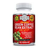 Green Coffee Bean Extract 800mg with GCA Natural Weight Loss Supplement Pills, 60 Caps