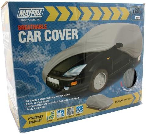 X-Large Maypole 9881 Breathable Full Car Cover Grey