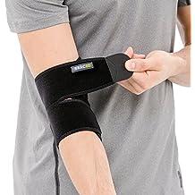 Bracoo Elbow Brace, Neoprene Sleeve, Adjustable Support