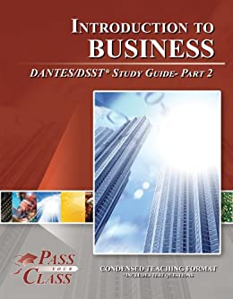 DSST Introduction to Business: Study Guide & Test Prep ...