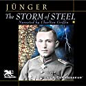 The Storm of Steel Audiobook by Ernst Jünger Narrated by Charlton Griffin