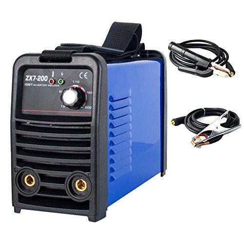 DALISHI MMA ARC STICK 110V 200A Welder small household Welding Machine DC single phase IGBT Tube Inverter Portable Welder ZX7-200