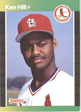Amazoncom 1989 Donruss Baseball Card 536 Ken Hill Mint