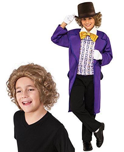 Willy Wonka Classic Child Costume Bundle Set - Medium