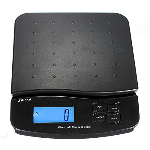 Liquid Crystal Display Surmount - Digital 25kg 55lb Parcel Letter Postal Postage Weighing Lcd Electronic Scale - Machine Musical Leaf Scurf Series Graduated Table - 1PCs by Unknown