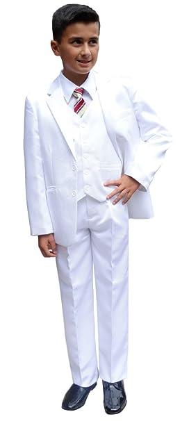 Jessidress - Traje - para niño Blanco 158 cm: Amazon.es: Ropa y ...
