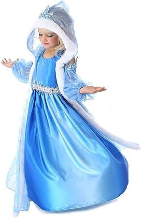 Disfraz de Reina del Hielo / Princesa de Nieve para niñas ...