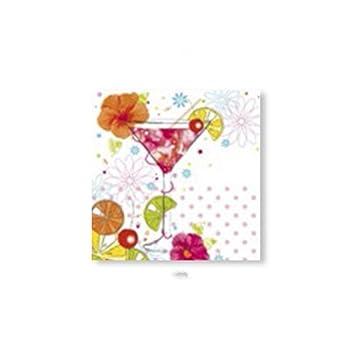 Servilletas Liuyu Cocina Inicio Toallas de Papel Tabla del Boda del pañuelo de la impresión 33 * 33cm 20 Hojas / 1 Paquetes (Color : B): Amazon.es: Hogar