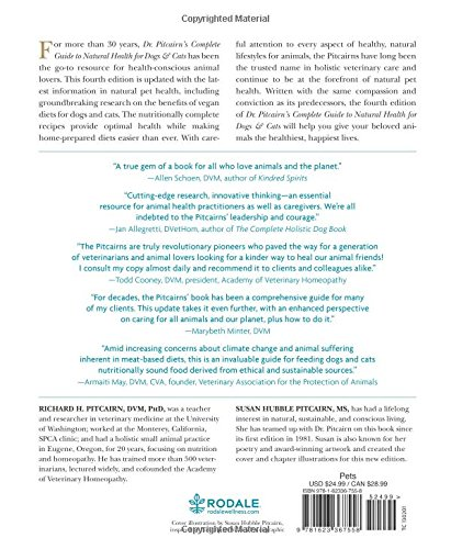 Dr. Pitcairn's Complete Guide to Natural Health for Dogs & Cats (4th Edition) by Rodale Books (Image #3)
